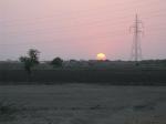 Sunset in Kathiawad, Gujarat